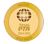 Texas PTA Website Award