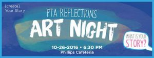 Reflections Art Creation Night