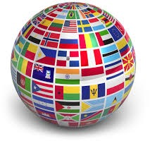 globe country flags