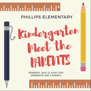 Kinder Meet the Parent Night